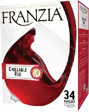 Franzia Chillable Red 5.0Ltr
