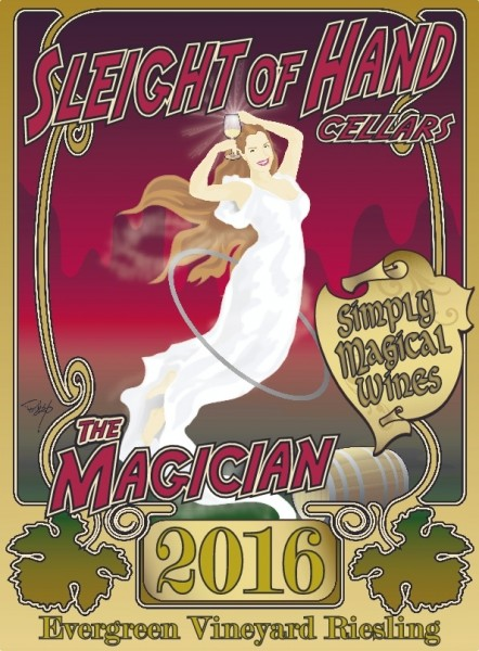 Sleight Of Hand The Magician 2018 750ml