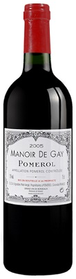 Chateau Manoir De Gay Pomerol 2018 750ml