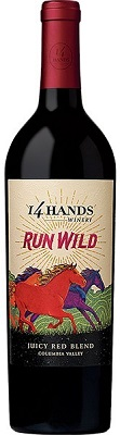 14 Hands Red Blend Run Wild 750ml