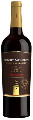 Robert Mondavi Red Blend Private Selection Rye Barrel 750ml