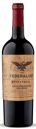 Federalist Zinfandel Bourbon Barrel Aged 2016 750ml