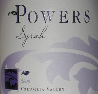 Powers Syrah Columbia Valley 2017 750ml