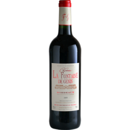 Chateau Genins Bordeaux 2017 375ml