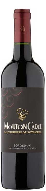 Baron Philippe De Rothschild Mouton Cadet Rouge 750ml