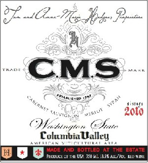 Hedges Cellars Cms Red 2018 750ml