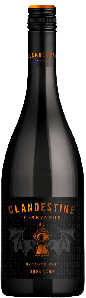 Clandestine Vineyards Grenache #1 2016 750ml