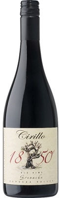 Cirillo Grenache Old Vine 1850 2011 750ml