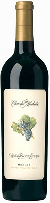 Chateau Ste. Michelle Merlot Canoe Ridge Estate Vineyard 2015 750ml
