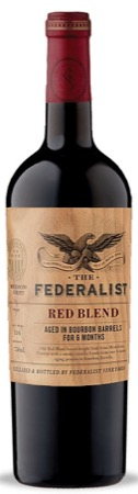 The Federalist Red Blend Bourbon-Barrel Aged 2017 750ml