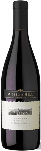 Mission Hill Winery Pinot Noir Reserve 2012 750ml