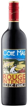 Cote Mas House Rouge Intense 2018 1.0Ltr