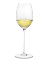 Sauvignon Blanc wine in the glass