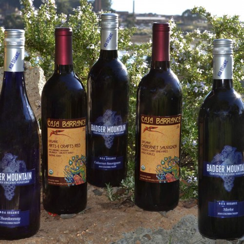 West Coast Organic No-Sulfites Added (NSA) Wines