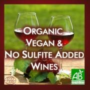 Organic, Vegan & NSA Wines