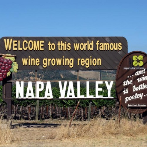 Welcome to Napa Valey