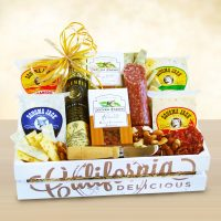 California Delicious Fresh Creamery Gourmet Crate