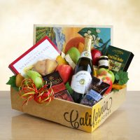 Fruit and Sparkling Cider Gift Box