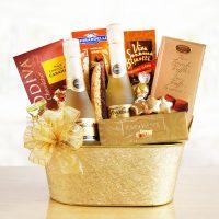 Sparkling Delight Gift Basket