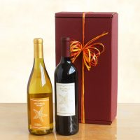 Classic Duet Red and White Wine Gift