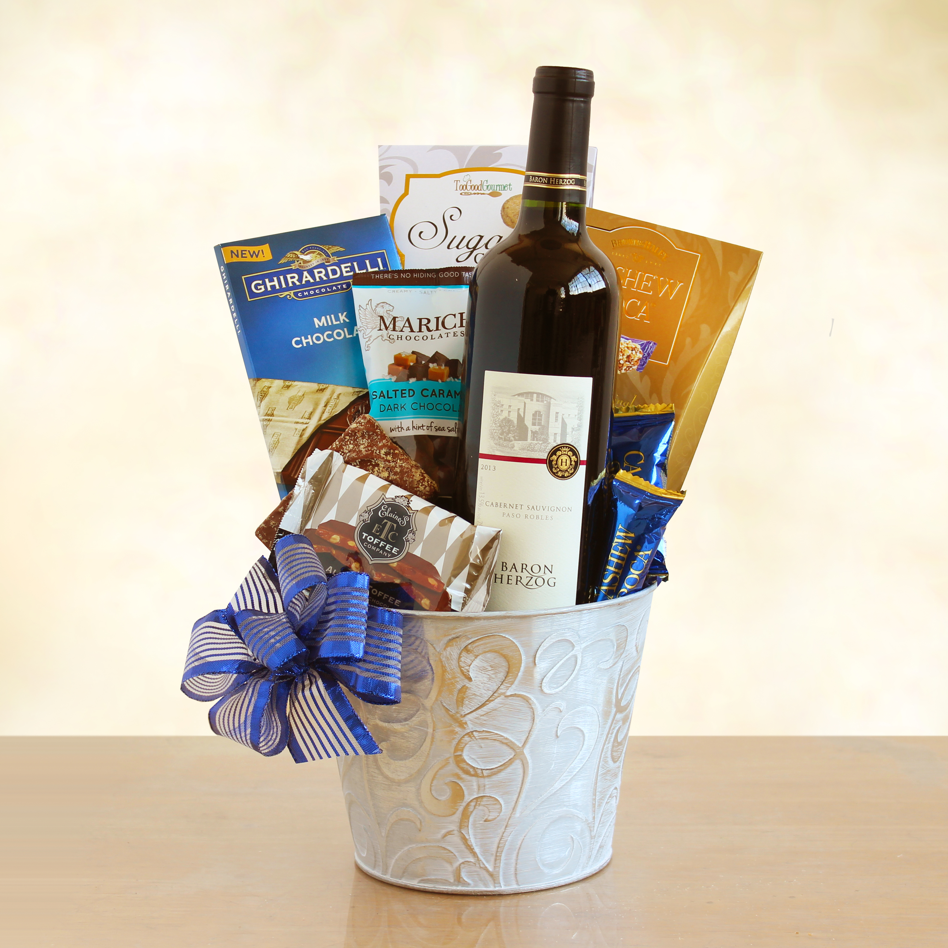 wine basket Overview product details this custom wine gift basket is perfect if you want to  build your own wine gift basket with specific wines that you can choose.