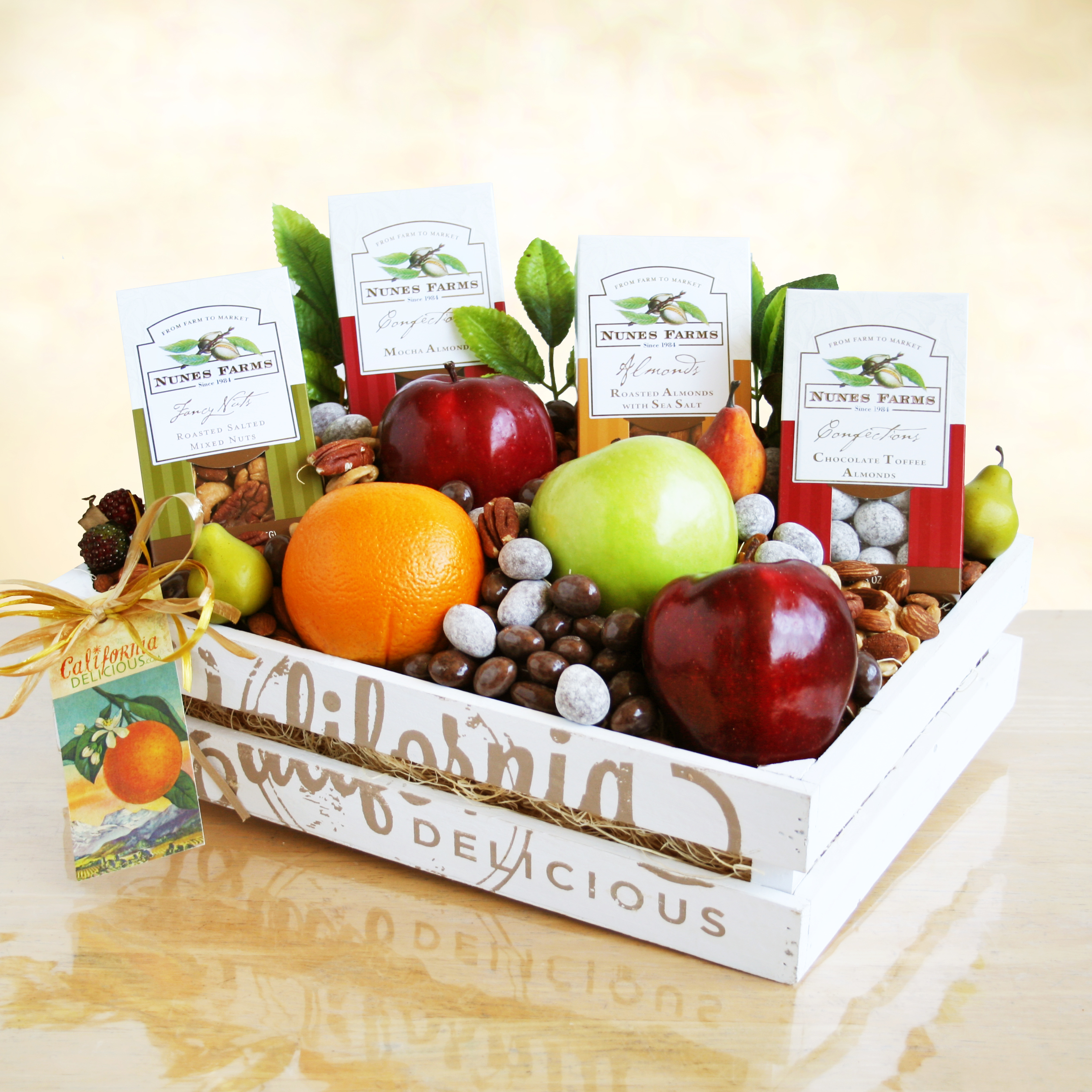 Fruit and Nuts Gift Crate