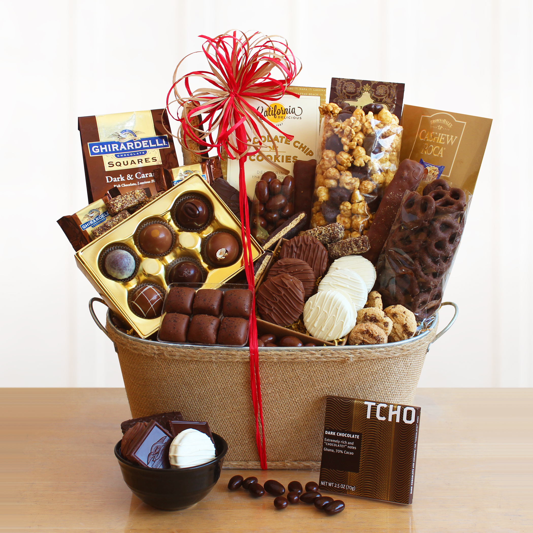 Chocolate Gift Baskets: Chocolate Lovers Gift Basket