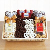Crunchy Sweet Snacks Gift Basket