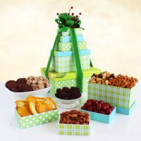 Sweet and Savory Treats Gift Tower