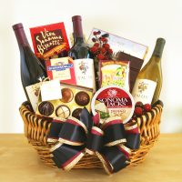 Golden Gate Greetings Gift Basket