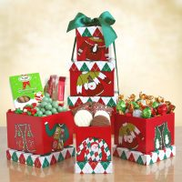 Holiday Sweater Gift Tower