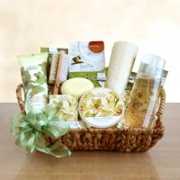 Orchid Spa Gift Basket