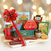 Seasons Greeting Holiday Cutting Board