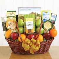 A Healthy Gift Basket