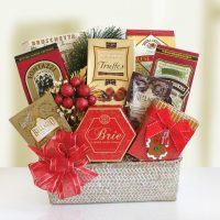 Holiday Treats Gift Basket