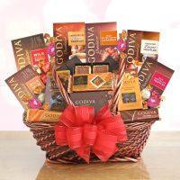 Indulgent Godiva Gift Basket
