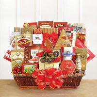 Extravagant Holiday Gift Basket