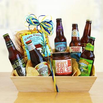 California Craft Beer Gift Basket