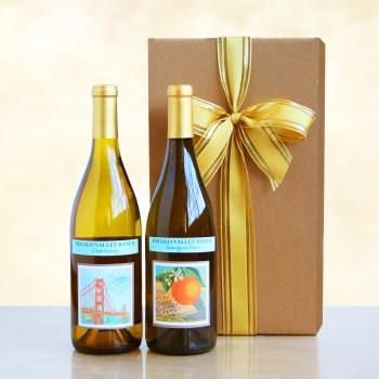California Living White Duet Gift Box