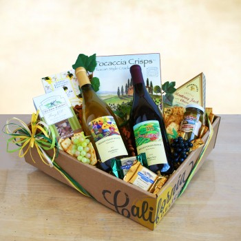 California Wine Gift Box