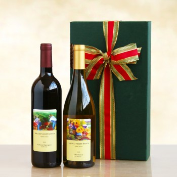 Red and White Regalo Valley Ranch Duet Gift