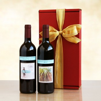 California Living Red Duet Gift Box