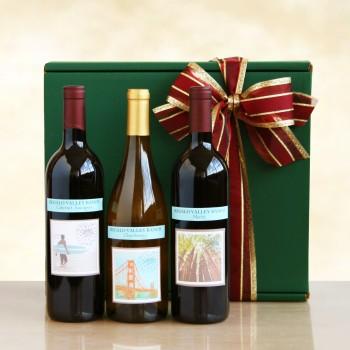 California Delicious Vineyard Selections Gift Box