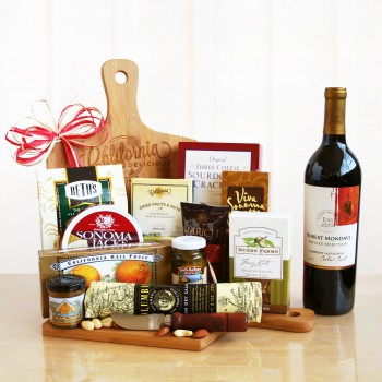 California Delicious Cutting Board Gourmet Gift