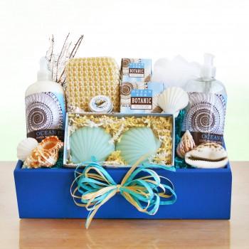 Ocean Escape Spa Gift Basket