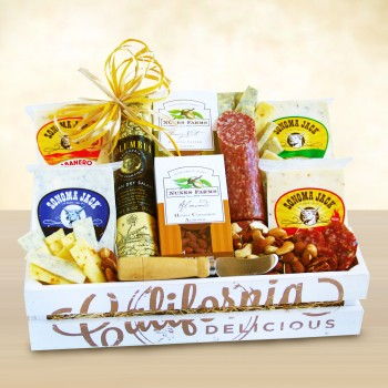 California Delicious Fresh Creamery Gourmet Crate
