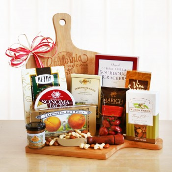 Cutting Board Gourmet Treats Gift