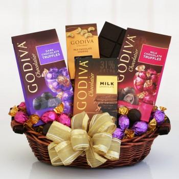 Taste of Godiva Gift Basket