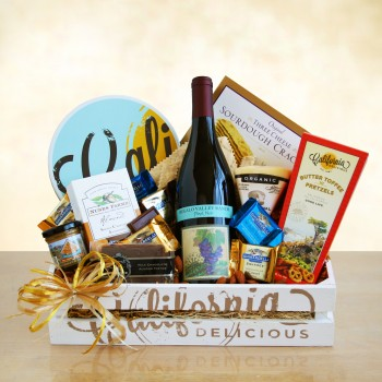 California Wine Country Gift Crate