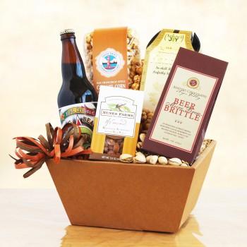 California Beer and Treats Gift Box